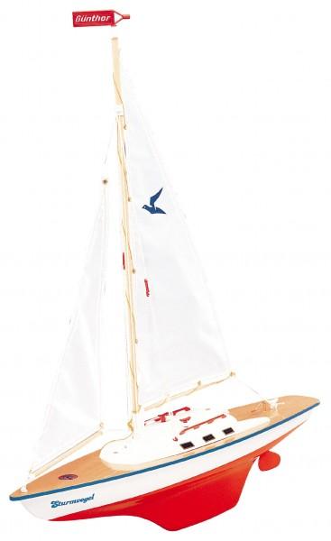 "Günther 1810 Segelboot ""Sturmvogel"" aus Holz"
