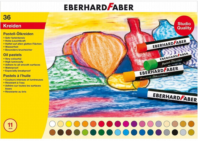 Eberhard Faber 522036 - Pastell Ölkreide, Kartonetui 36er