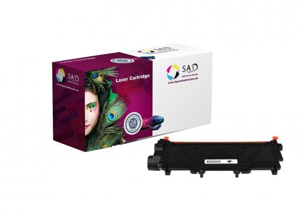 SAD Premium Toner komp. zu Brother TN-2320 / TN2320 / XXXL ca. 10.400 Seiten Black/schwarz