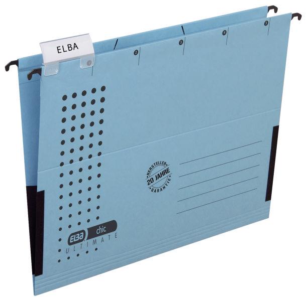 Elba Hängetasche chic ULTIMATE®, 230 g, A4, blau