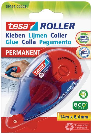 Vorschau: tesa Roller Kleben permanent ecoLogo Nachfüllroller ( Blister )