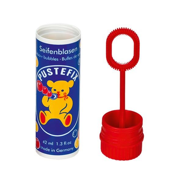 Pustefix - Kleinpackung - 42 ml - Seifenblasen - 1 Stück - Bubbels - Seifenblasen für Kinder & Erwac