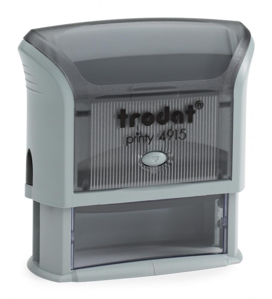 trodat® Stempel Printy 4915 - max. 6 Zeilen, 70 x 25 mm