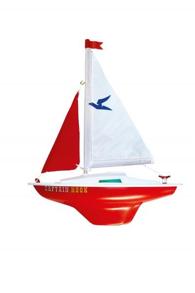 Paul Günther 1830 - Segelboot Captain Hook zum Spielen, ca. 24 x 31 cm groß, hochwertig gefertigt un