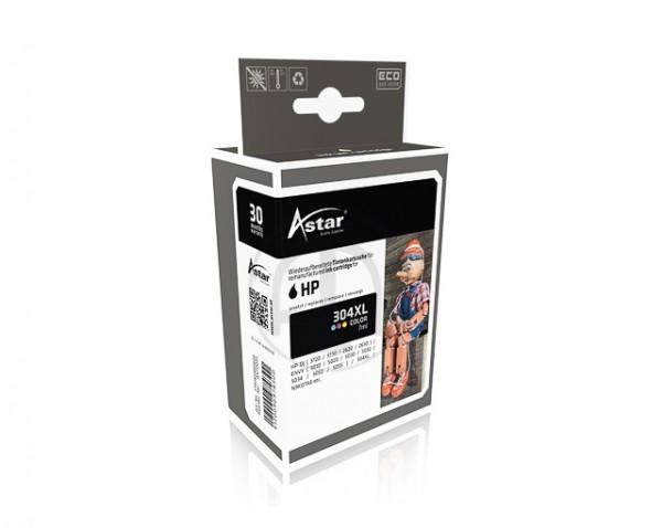 Astar AS70031 kompatibel mit HP N9K07AE 304XL Color - 300 Seiten