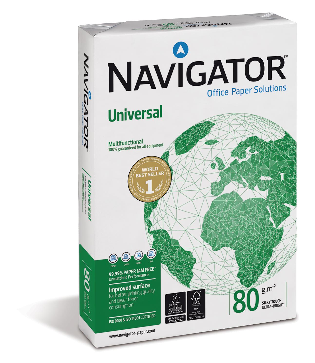 Navigator Universal Kopierpapier 80g/m² DIN-A4 500 Blatt weiß