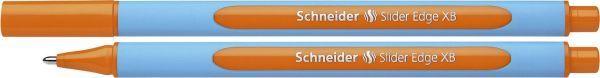 Schneider Kugelschreiber Slider Edge - Kappenmodell, XB, orange