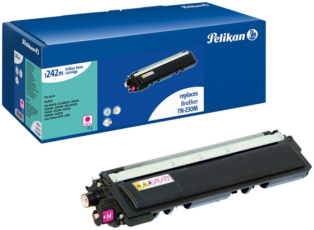 Pelikan Toner komp. zu TN-230 m Brother DCP-9010 magenta