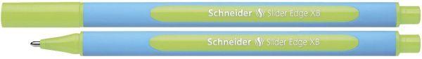 Schneider Kugelschreiber Slider Edge - Kappenmodell, XB, hellgrün