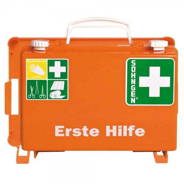 SÖHNGEN Erste-Hilfe-Koffer Quick-CD DIN 13157 orange