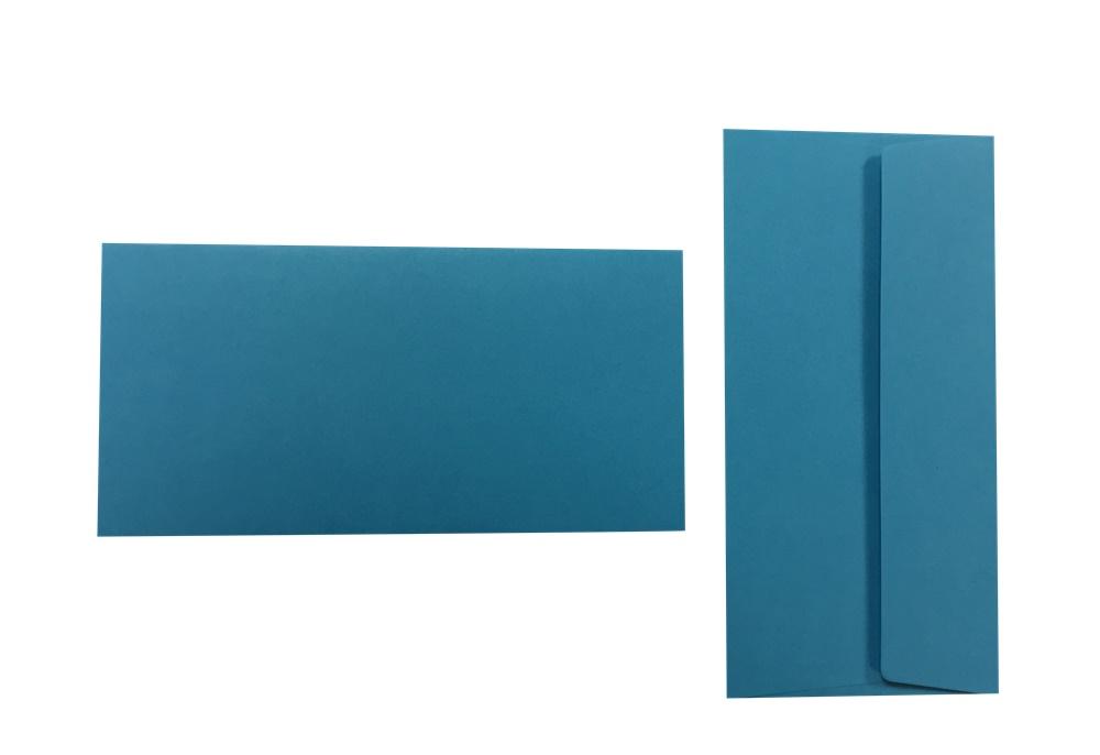 Pop'Set Umschläge DIN Lang californiablau 120g/m² 100 Stück