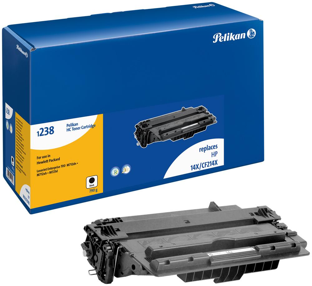Pelikan Toner 1238HC  komp. zu CF214X  Laserjet Enterprise 700 M712 DN etc. black