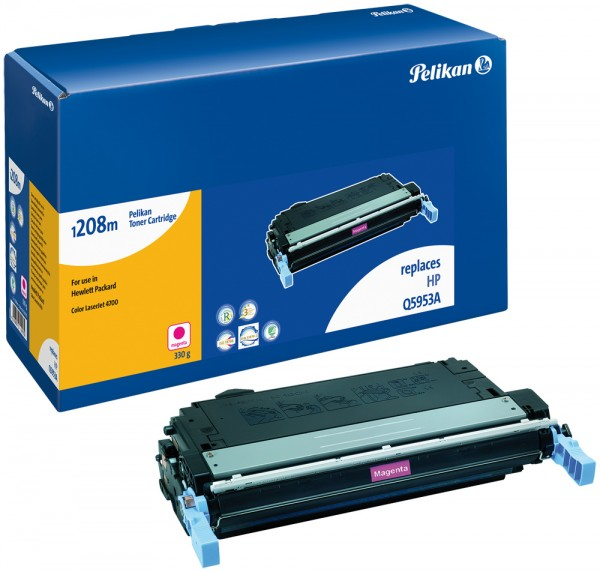 Pelikan Toner 1208 komp. zu Q5953A HP Color LaserJet 4700 magenta