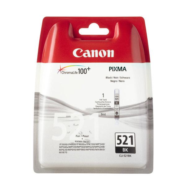Vorschau: Original Canon CLI-521BK für PIXMA iP3600 4600 MP980 black foto