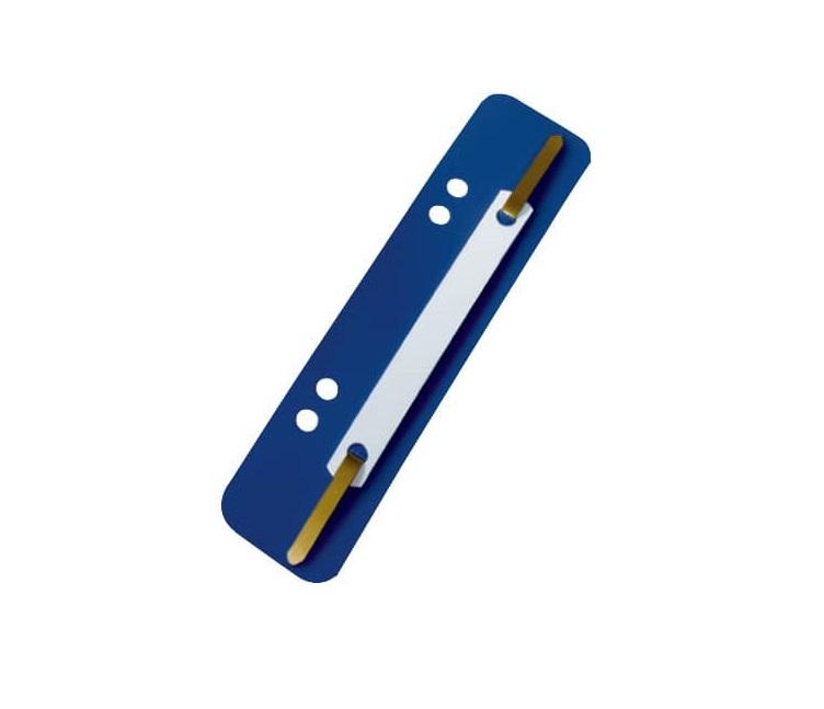 Leitz Einhängeheftstreifen, kurz, PP, blau, 100 Stück