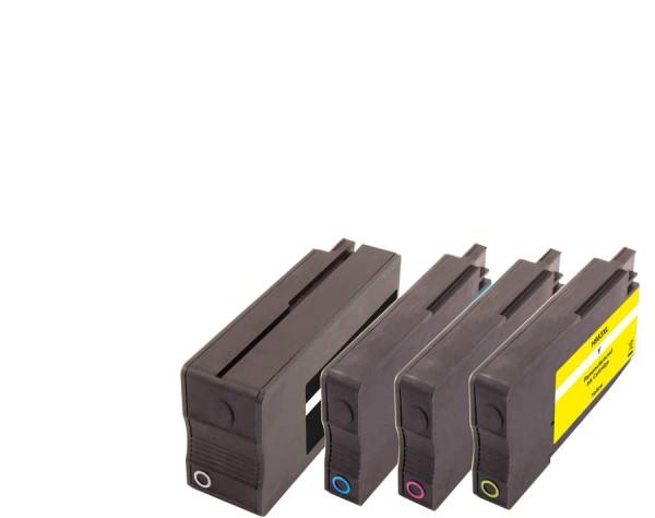 SAD Multipack kompatibel mit HP 953XL CMYK 3HZ52AE 1x70ml + 3x24ml
