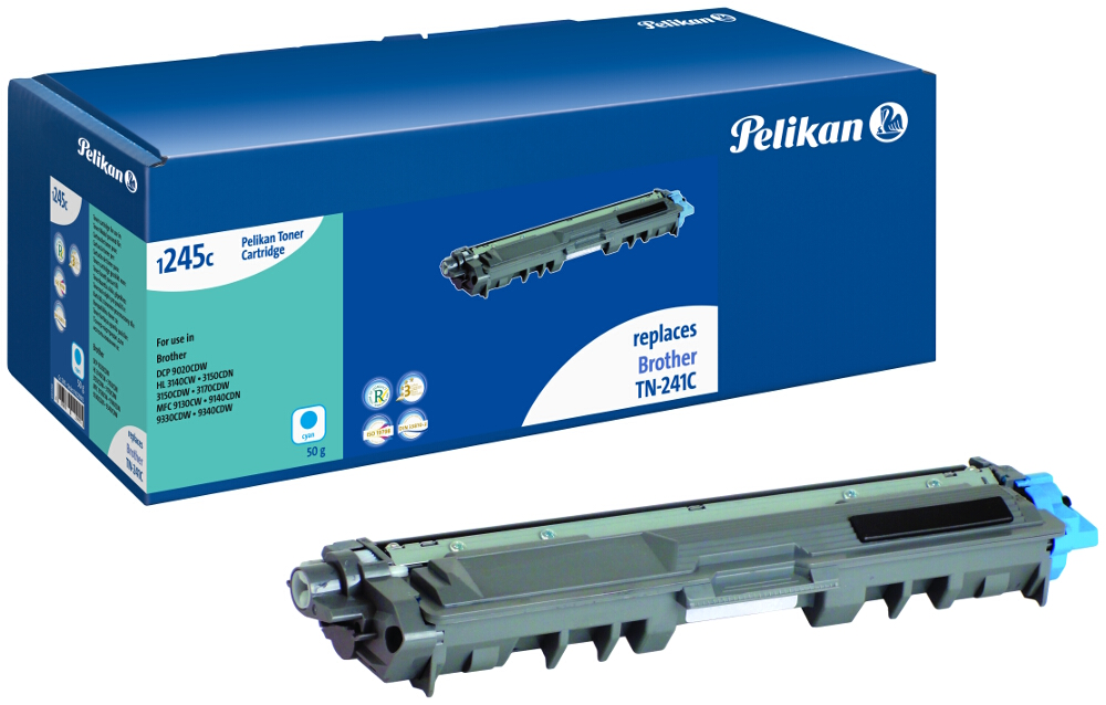 Pelikan Toner für Brother TN-241C DCP-9020 CDW etc. cyan
