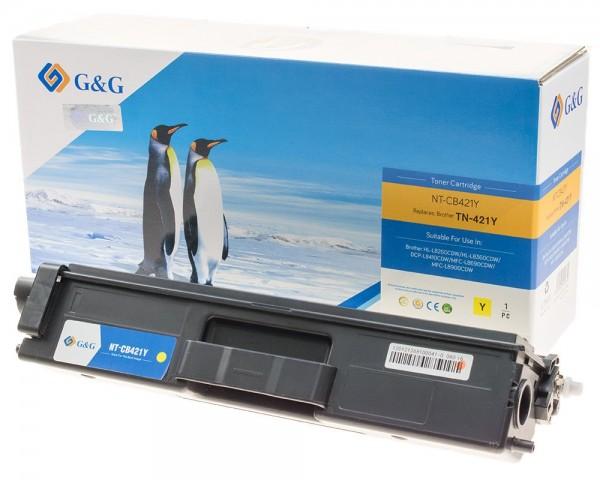 G&G Image Toner kompatibel zu Brother TN-421Y gelb