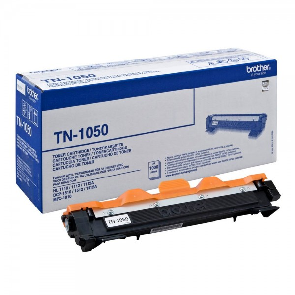 Original Brother Toner TN-1050 für HL-1110 / 1112 / 1210W etc. black ca. 1.000 Seiten