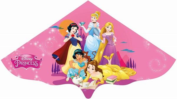 Paul Günther 1190 - Kinderdrachen mit Disney Princess Motiv, Einleinerdrachen aus robuster PE-Folie