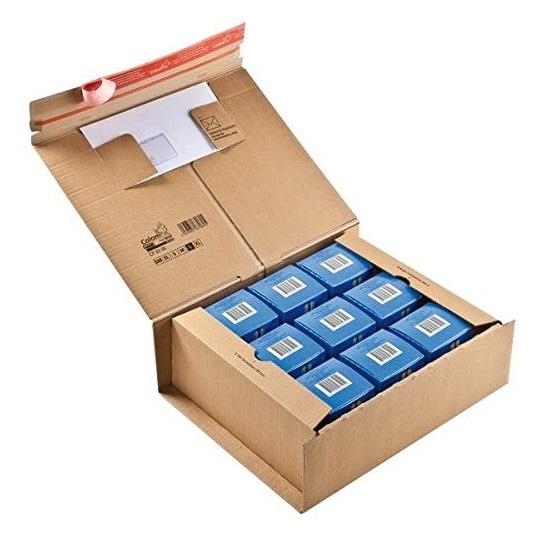 ColomPac® Paket Versandkarton 385 x 315 x 130 mm, braun