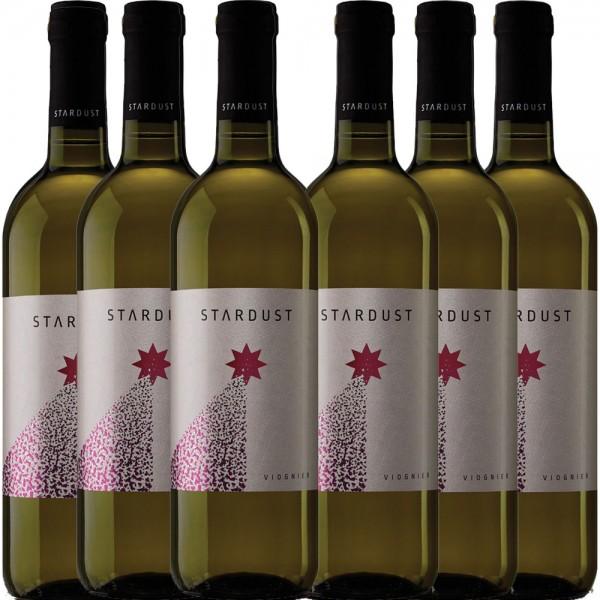 6x 0,75L Flaschen STARDUST Viognier Weißwein trocken Mazedonien 2016 - 12,8% - 5,55€/L