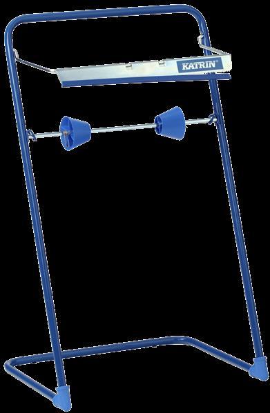 Katrin Industrierollenspender Bodenständer blau