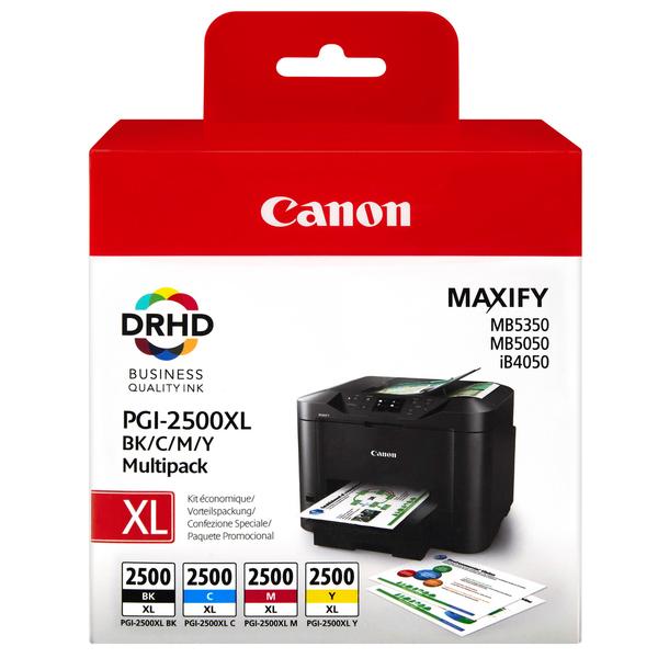 Original Canon Multipack PGI-2500X LMulti MAXIFY MB5050 etc. bk c m y