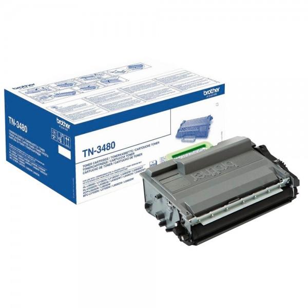 Original Brother Toner TN-3480 für HL-L5000D/L5100 etc. black ca. 8.000 Seiten