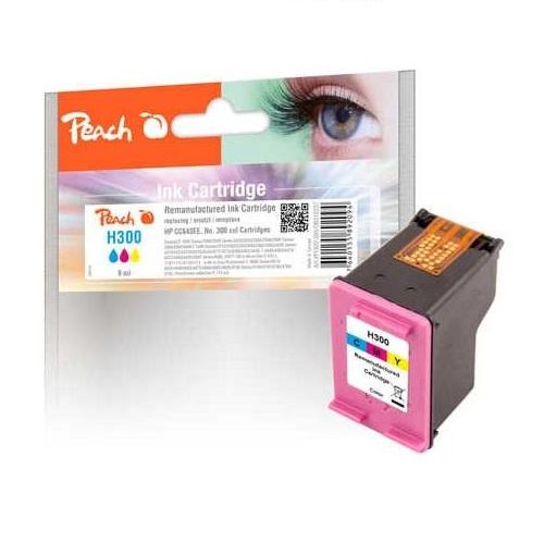 Peach Druckkopf schwarz kompatibel mit HP No. 300, CC640EE