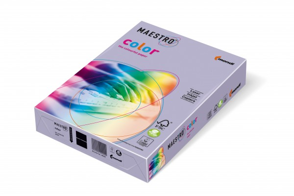 Mondi Maestro Color lavendel 80g/m² DIN-A4 - 500 Blatt LA12