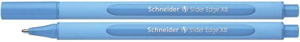 Schneider Kugelschreiber Slider Edge - Kappenmodell, XB, hellblau