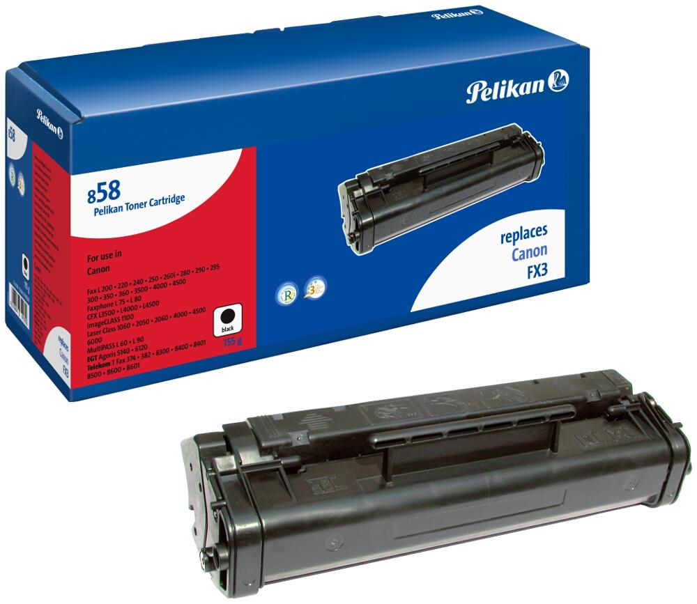 Pelikan Toner 858 komp. zu 1557A003 Canon Fax L200 black