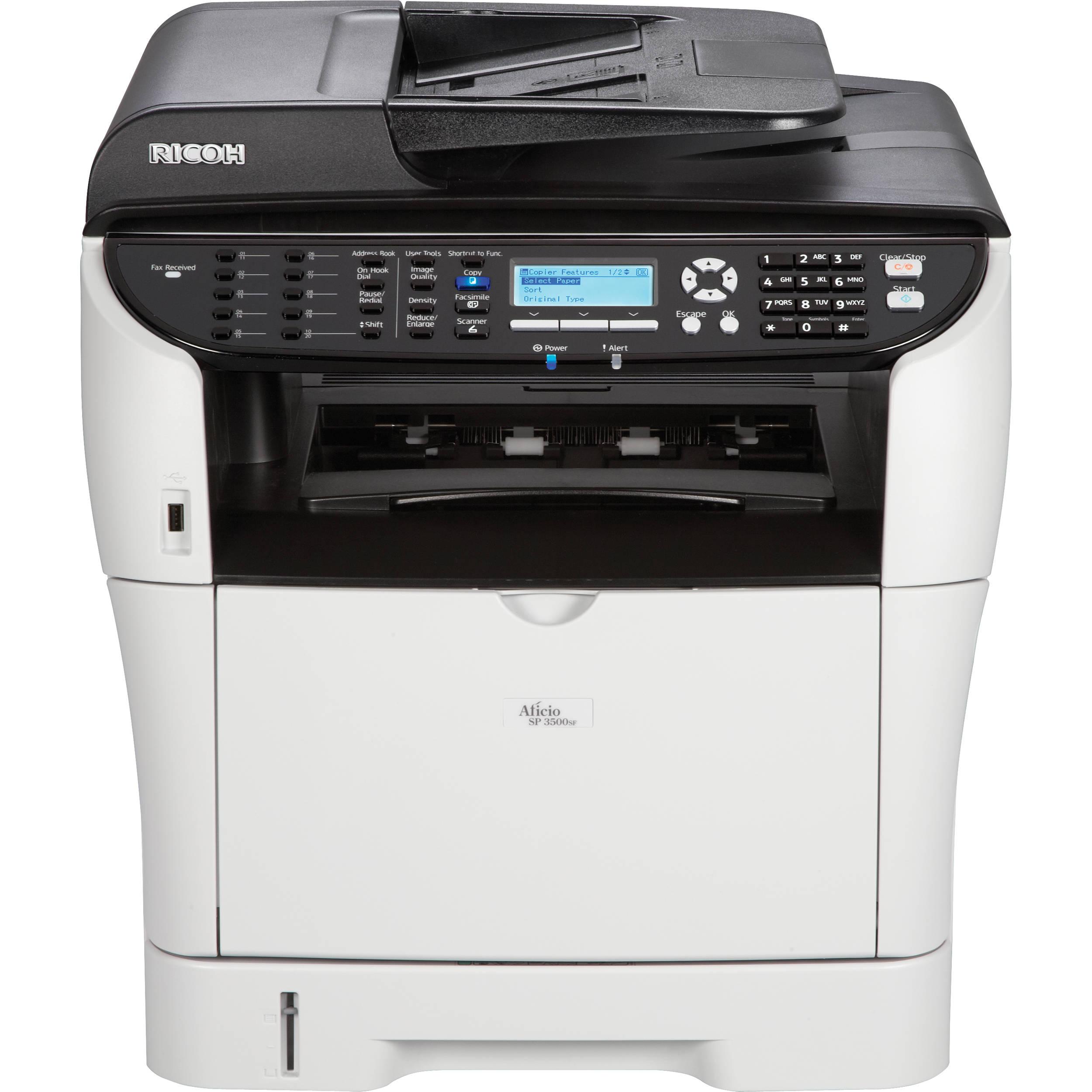 Ricoh Aficio SP 3500SF SW-Laserdrucker