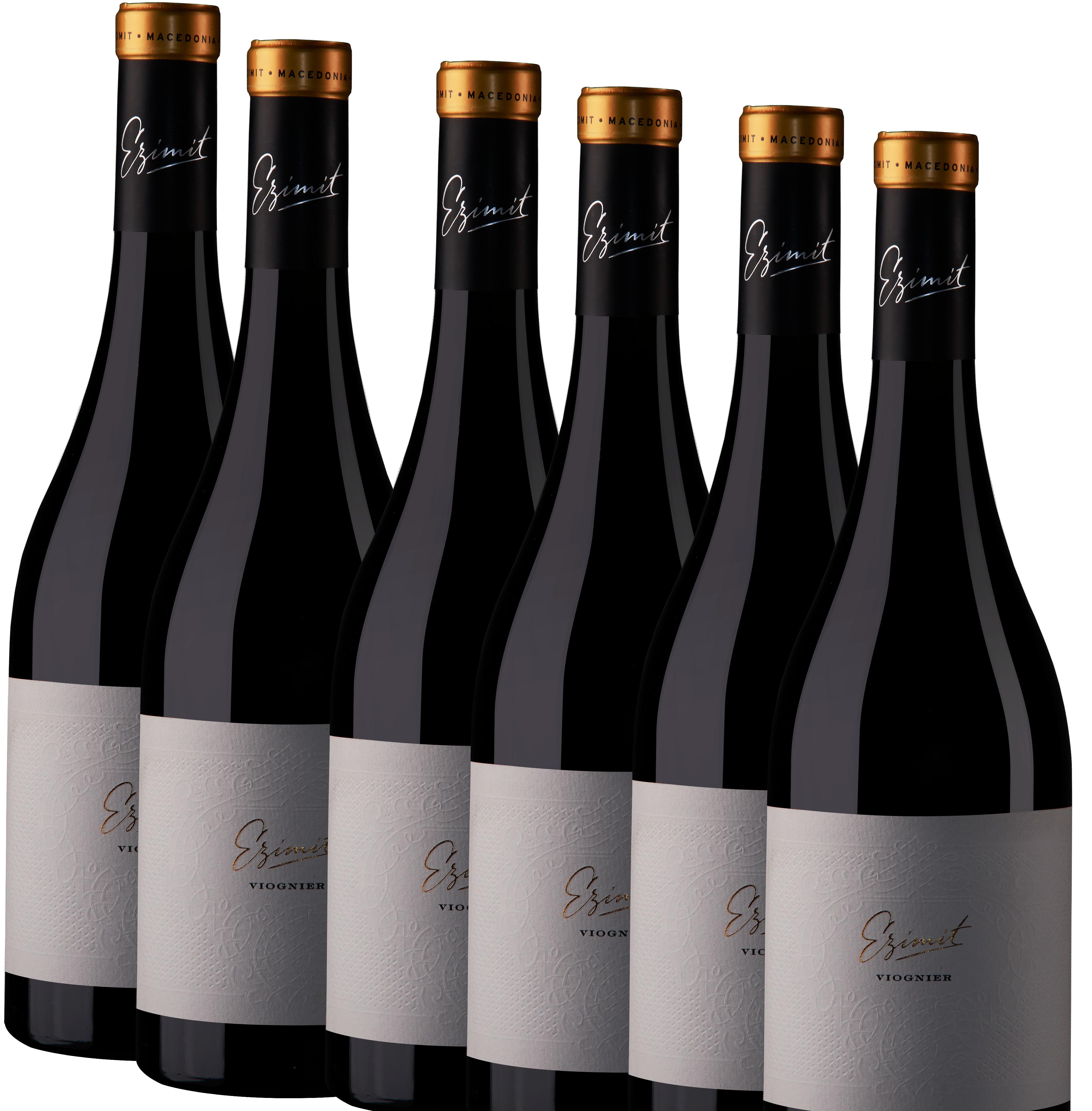 6x 0,75L Ezimit Viognier Weißwein trocken 2018 - 14,0% - 7,31€/L