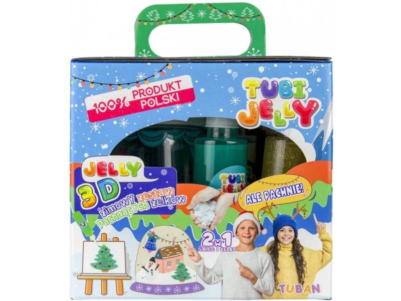 Tubi Jelly by Tuban 3D Effekt Fensterfarben Winter Weihnachten