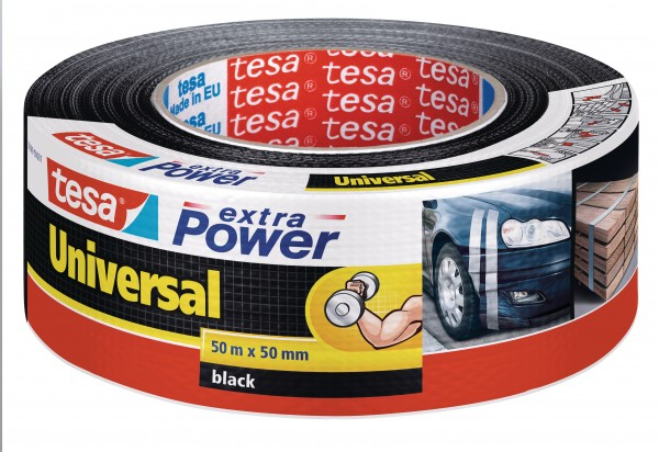 GP: 0,13 EUR/m tesa extra Power Universal schwarz 50m x 50mm