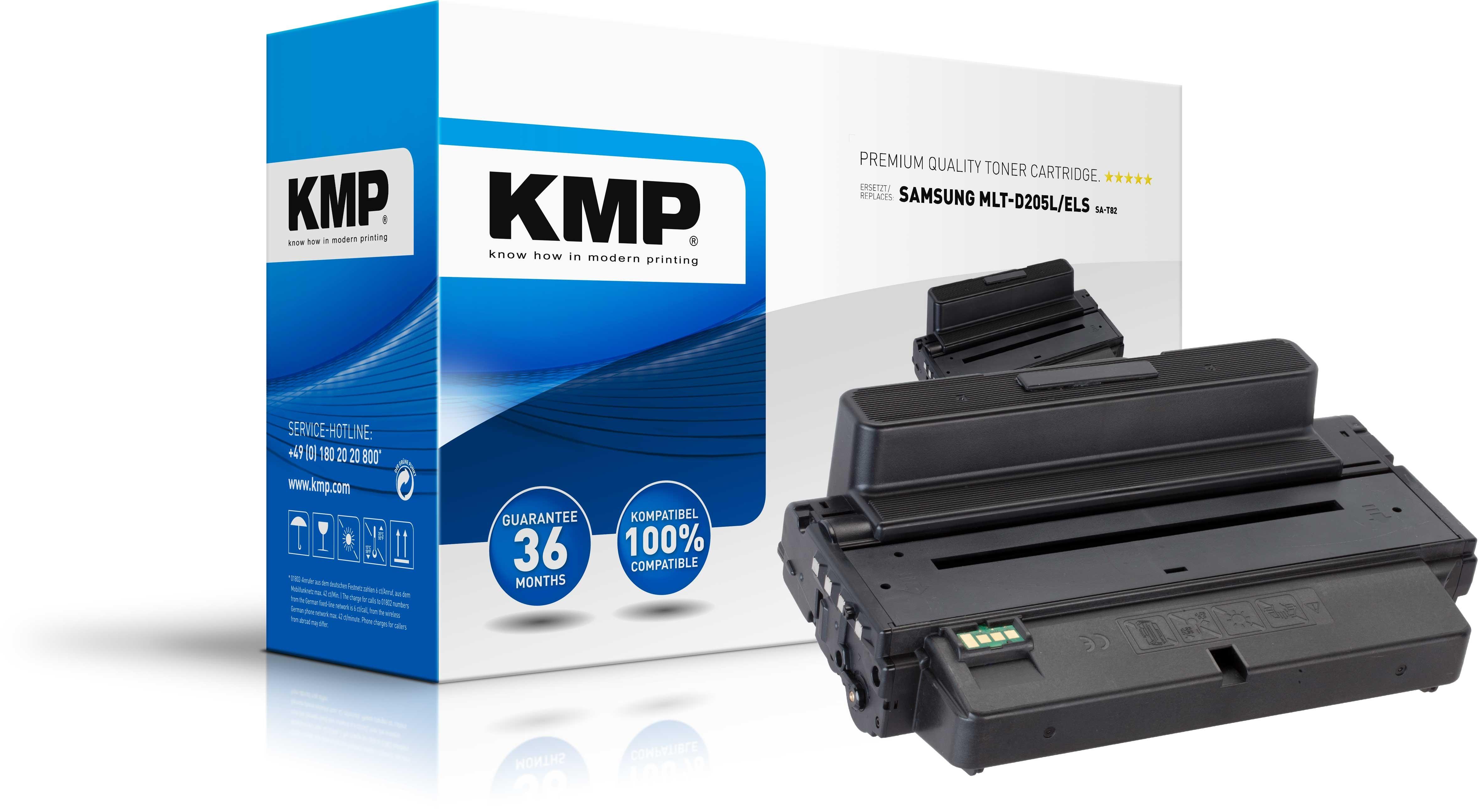 KMP Toner SA-T82 ersetzt MLT-D205L/ELS für Samsung ML-3710 Serie etc. black