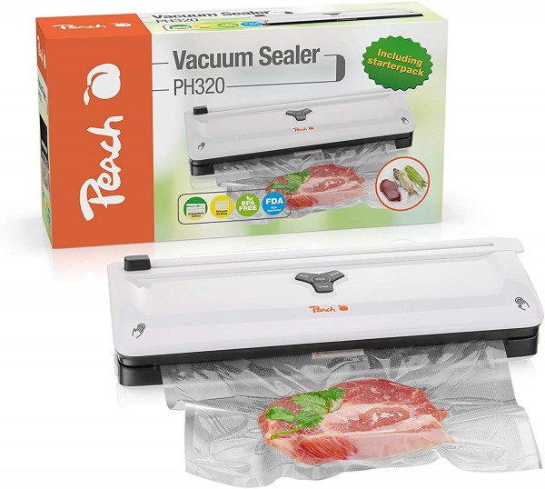 Peach Vakuumiergerät PH320 | 4.5 Liter pro Minute | -50 kPa