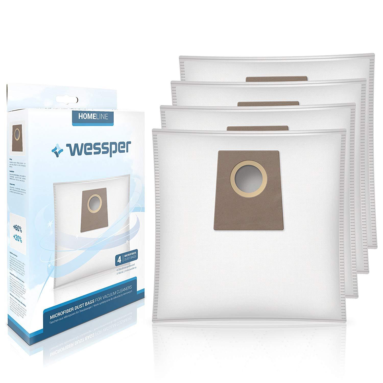 Wessper® Staubsaugerbeutel 468383 für Bosch Siemens VZ41AFG BBZ41FG BBZ51AFG 469873 VZ41GPLUS BBZ41G