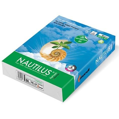 Mondi Nautilus Refresh 80g/m² DIN-A4 / 500 Blatt Papier weiß