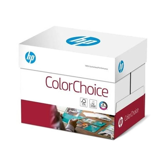 Hewlett-Packard CHP 753 Color-Choice Laserpapier 120 g DIN-A4, 210 x 297 mm, hochweiß, extraglatt, 1