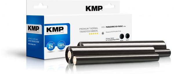 KMP TTR Farbband für Panasonic KX-FP 141 / 145 schwarz