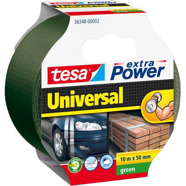 GP: 0,36 EUR/m tesa extra Power Universal Grün 10m x 50mm