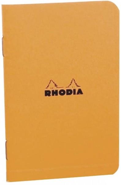 Rhodia 119152C Heft (kariert, 7,5 x 12 cm, 24 Blatt) 1 Stück farbig sortiert