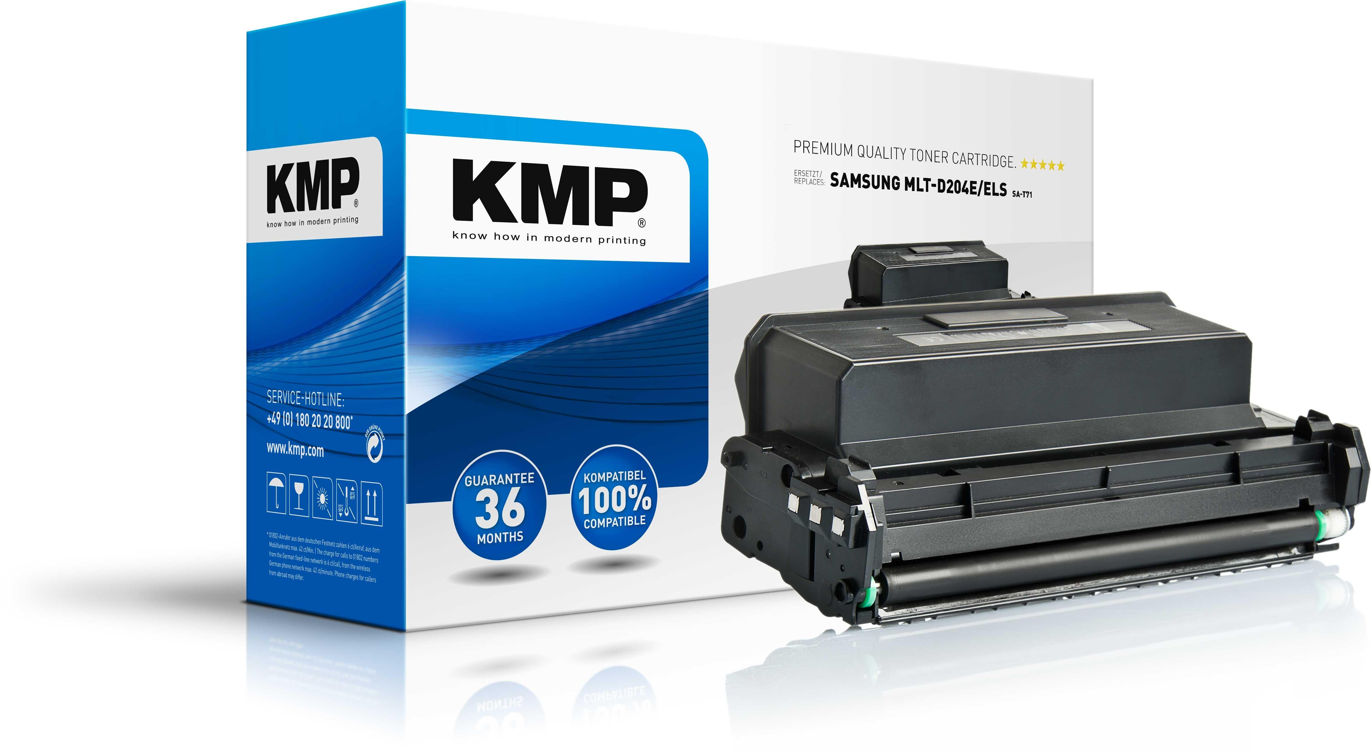 KMP Toner SA-T71 ersetzt MLT-D204E/ELS Samsung ProXpress M3825D etc. black