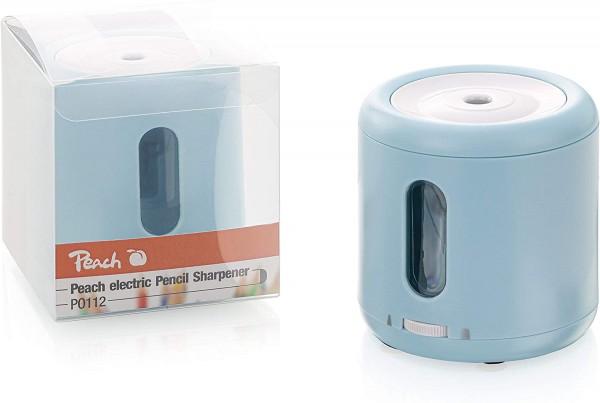 Peach elektrischer Anspitzer für Bleistifte und Buntstifte, PO112