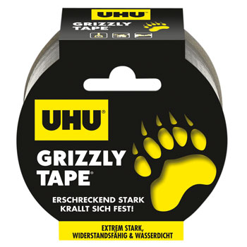 GP: 0,70€/m UHU Grizzly Tape 10 Meter