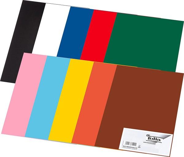 folia Tonpapier 130g/qm DIN A3, 50er Pack