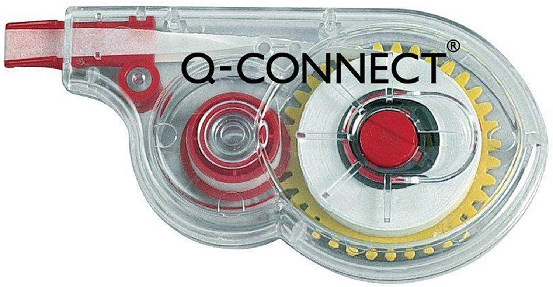 Q-Connect KF01593Q Korrekturroller weiß
